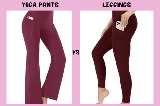 Yoga Pants vs Leggings
